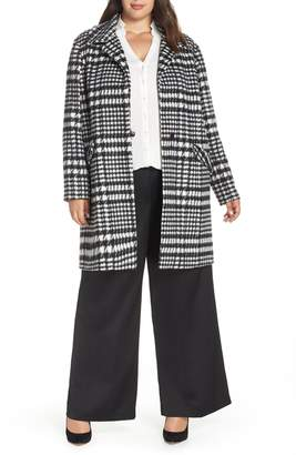 Sejour Brushed Houndstooth Coat