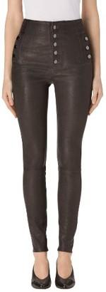 Women's J Brand Natasha High Waist Skinny Leather Pants $1,298 thestylecure.com