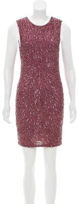 Alice + Olivia Sequined Mini Dress w/ Tags