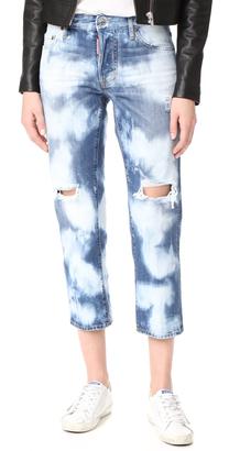 DSQUARED2 Tomboy Jeans $525 thestylecure.com
