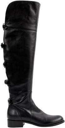 Valentino Leather riding boots