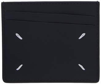 Maison Margiela (メゾン マルジェラ) - Maison Margiela ブラウン & ブラック ステッチ カード ホルダー