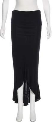 Yigal Azrouel High-Low Maxi Skirt