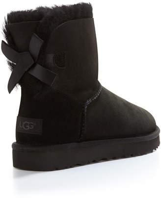 black mini ugg boots uk