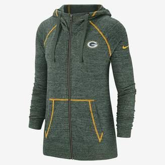 Nike Women's Full-Zip Hoodie Gym Vintage (NFL Packers)