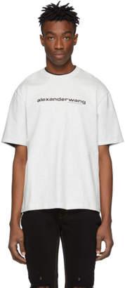 Alexander Wang Grey Printed Double T-Shirt