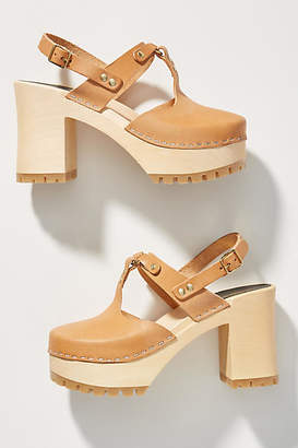 Swedish Hasbeens Rita Clog Sandals
