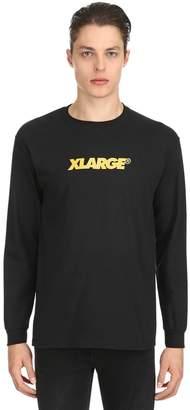 XLarge OG LOCKUP ジャージーロングTシャツ