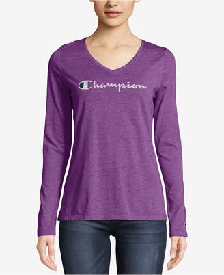 Champion Authentic Washed Long-Sleeve T-Shirt