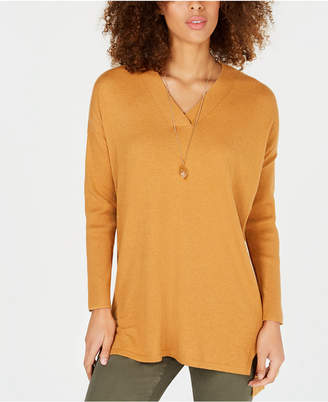 Style&Co. Style & Co High-low Over-sized Tunic Top, Created for Macy's