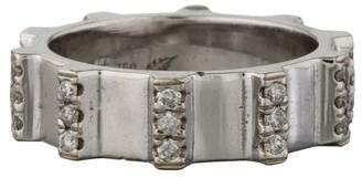 18K Pave Gear Ring