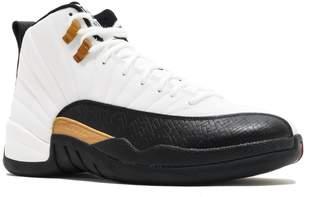 "Nike Jordan 12 Retro ""Taxi"" Big Kids Basketball Shoes White/Black-Taxi-Varsity Red 153265-125 ( M US)"