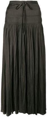 Ulla Johnson high waisted pleated skirt