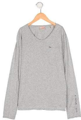 Scotch Shrunk Boys' Long Sleeve Pocket T-Shirt