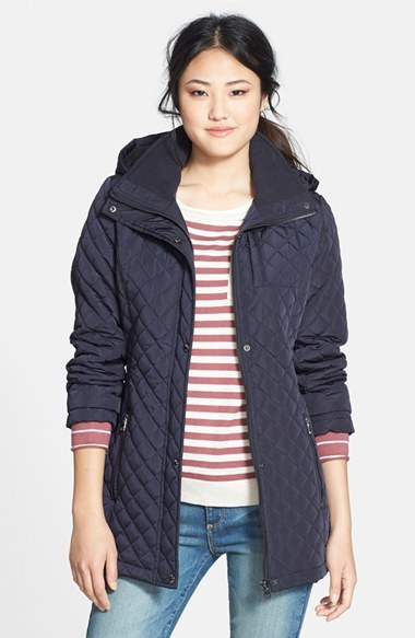 Women's Calvin Klein Hooded Quilted Jacket