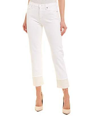 Hudson Jeans Women's Zoeey HIGH Rise Straight Crop 5 Pocket