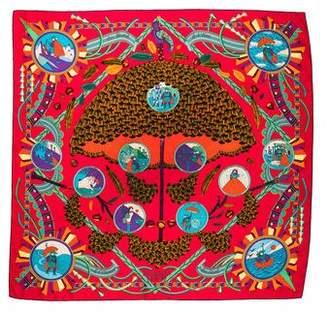 Hermes L'Ombrelle Magique Silk Scarf