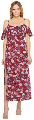 Lucky Brand Floral Maxi Dress Women's Dress