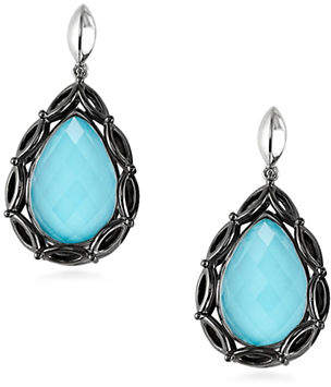 Hera Paradise Peardrop Gemstone Earrings
