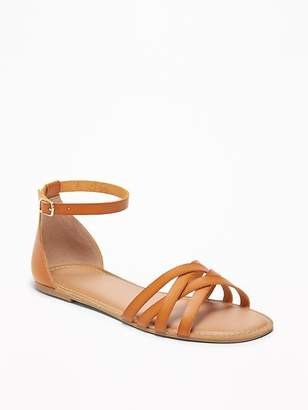 924aea00ec4 Old Navy Strappy Ankle-Strap Sandals for Women