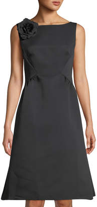 Kate Spade Rambling Roses V-Back Structured Dress