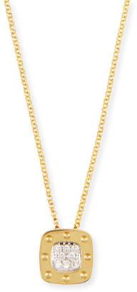 Roberto Coin Pois Moi 18k Diamond Pendant Necklace