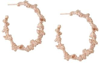 Niza Huang large irregular hoop earrings