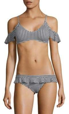 Juicy Couture Gingham Bikini Top