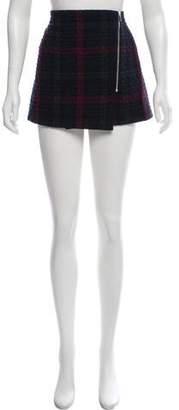 Elizabeth and James Plaid Mini Skirt w/ Tags