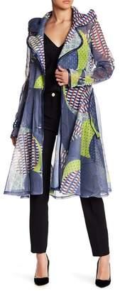 CQ by CQ Honeycomb Mesh Printed Jacket