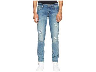 The Kooples Distressed Jeans in Light Blue