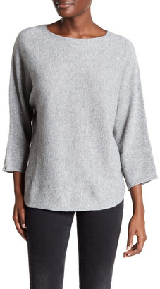 Zadig & Voltaire Banko Dolman Sleeve Cashmere Sweater $475 thestylecure.com