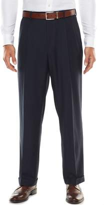 Croft & Barrow Big & Tall Stretch Classic-Fit True Comfort Pleated Suit Pants