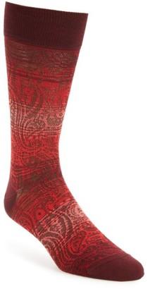 Men's Bugatchi Mercerized Cotton Blend Socks $19.95 thestylecure.com