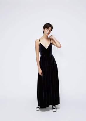 Xiao Li Sleeveless Full Length Dress