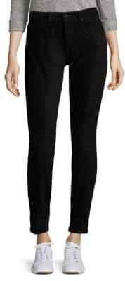Newtown Faux Suede Skinny Jeans