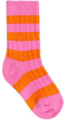 Arket Block Striped Socks