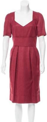 Dolce & Gabbana Silk Midi Dress w/ Tags