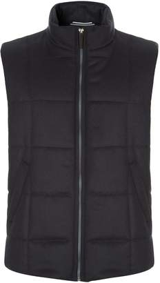 Harrods Quilted Cashmere Gilet