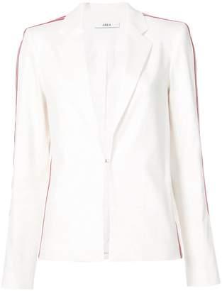 Area side-striped padded blazer