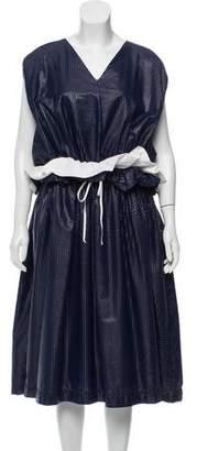 Arthur Arbesser Textured Athleisure Dress w/ Tags