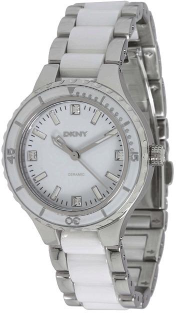 DKNY Broadway NY8498 (White/Silver) - Jewelry