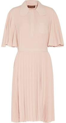 Giambattista Valli Pleated Crepe Dress