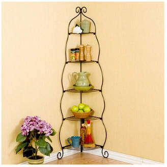 Wildon Home Colchester Etagere Corner Shelf