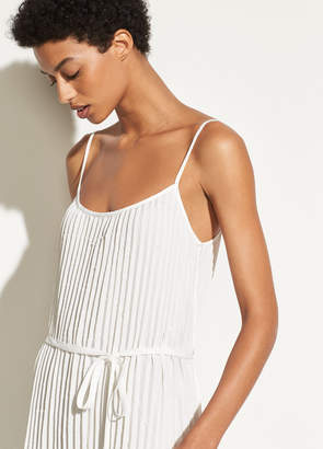 Pleated Cami Dress