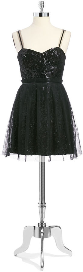 French Connection Sparkle Cocktail Dress