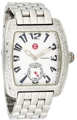 Michele Diamond Mini Urban Watch