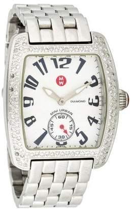 Michele Diamond Mini Urban Watch