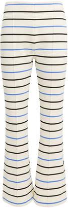 Sonia Rykiel Stripe Flare Pants