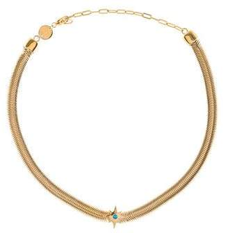 Jennifer Zeuner Jewelry Turquoise Ellerie Choker Necklace